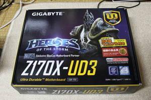 マザーボード GIGABYTE Z170X-UD3