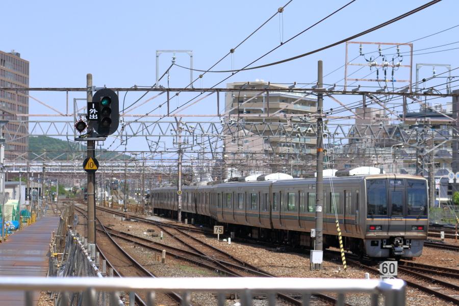 高槻駅東京方面側構内