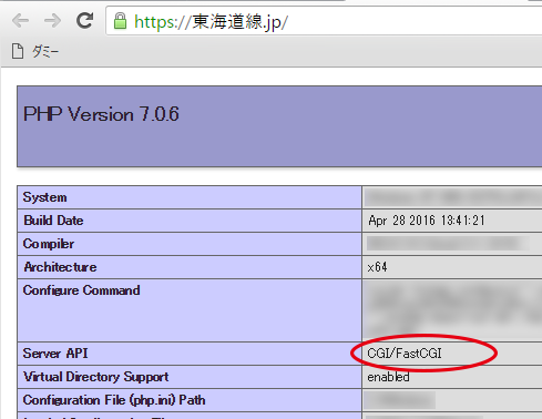 PHPmode-fastcgi