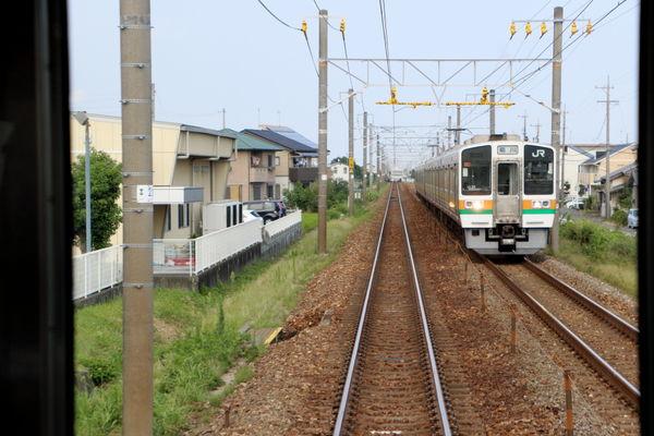 六合駅付近