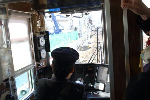 阪急9300系先頭車から