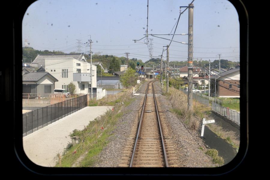 貴生川駅付近