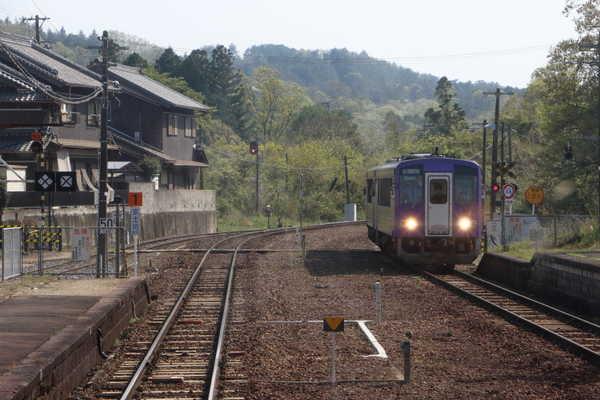 列車の行き違い