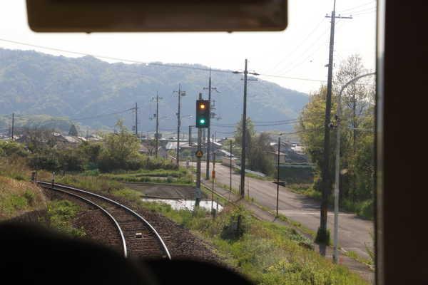 加茂駅遠方信号