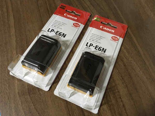 LP-E6N 2個