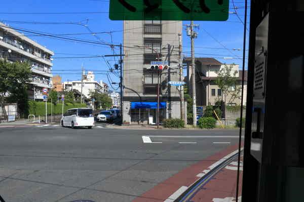 西大路三条駅付近