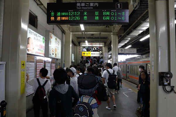 大垣駅1番線