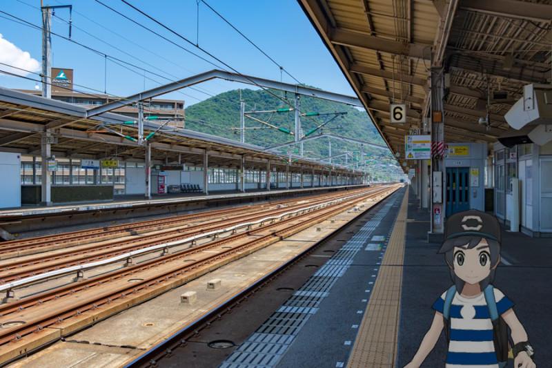 三原駅新幹線ホーム