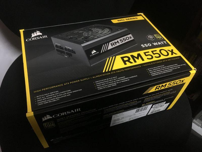 ATX電源 COSAIR RM550x