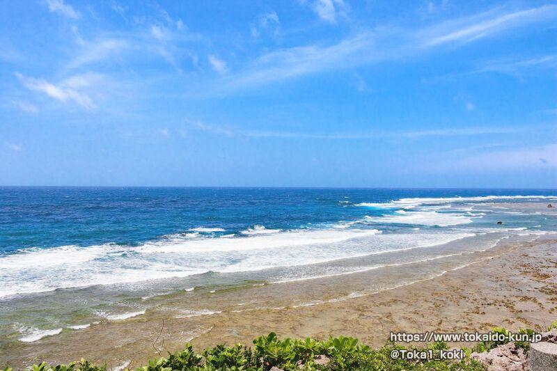 東シナ海を一望できる