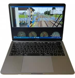 MacBook Proで動作するWindows上で動作するBVE Trainsim 5