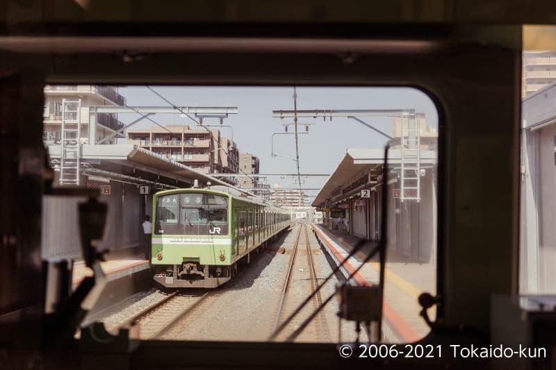 201系(おおさか東線 JR野江駅)